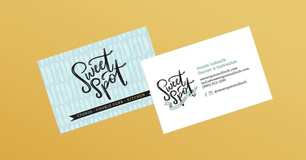 Sweet Spot Studio | Business Card Design
