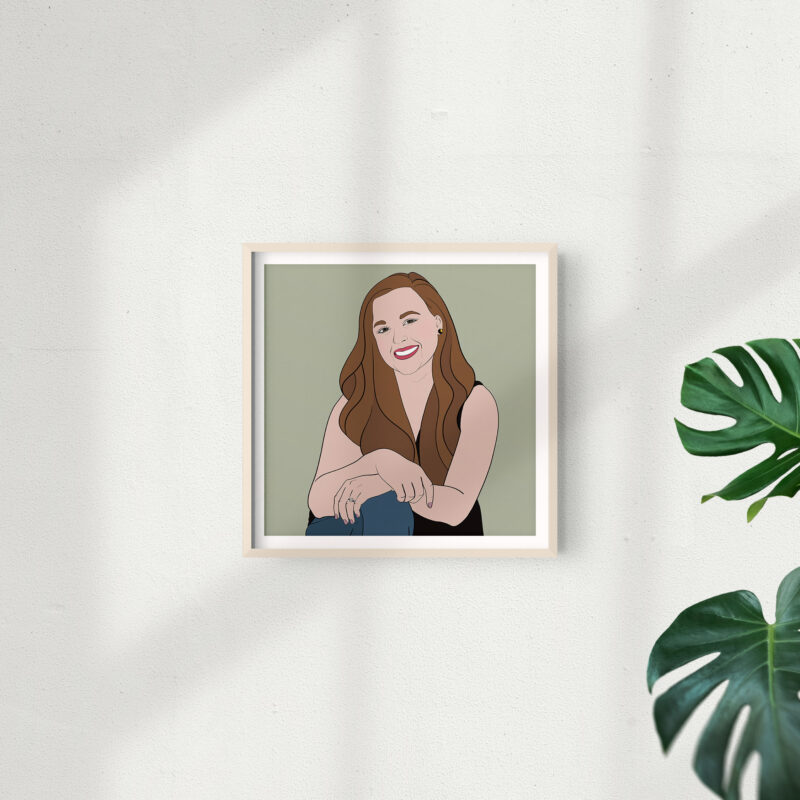 Custom Digital Portrait | © Dana Gray Studio