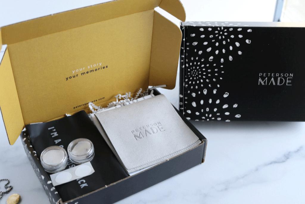Fingerprint Jewelry Packaging   Peterson MADE