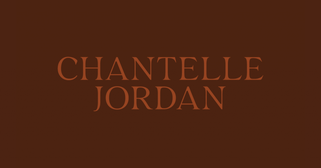 Chantelle Jordan Photography | Logo Design