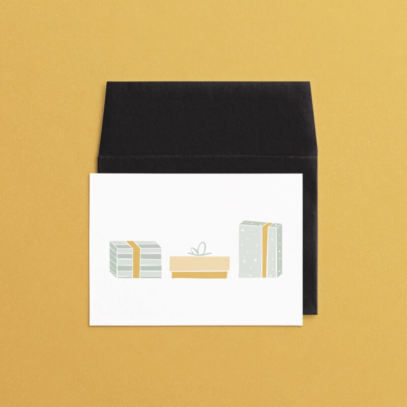 Christmas Presents | A7 Greeting Card