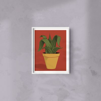 Snake Plant | 8 x 10 Art Print