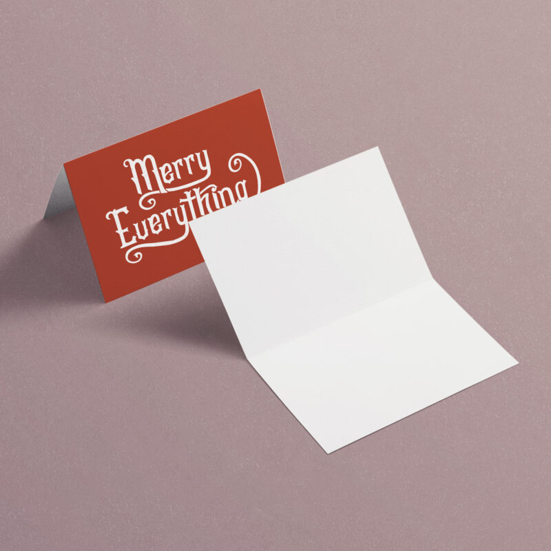Merry Everything | A7 Greeting Card