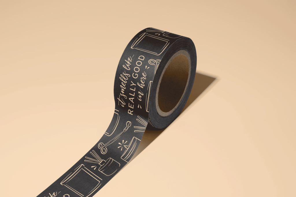 Custom Tape Design | Pretty Honest Candles